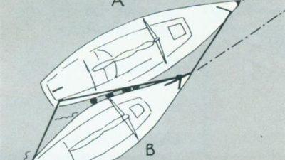 Ρημούλκηση ιστιοφόρου σκάφους στην ανοικτή θάλασσα