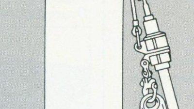 Μπέρδεμα σχοινιών στο ιστιοφόρο σκάφος