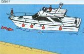 Πλαγιοδέτηση σκάφους με δυο προπέλες