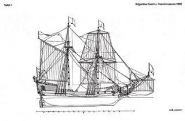 Kατασκευή και ναυπήγηση από τα σκαρία ενός παλιού πειρατικού σκάφους