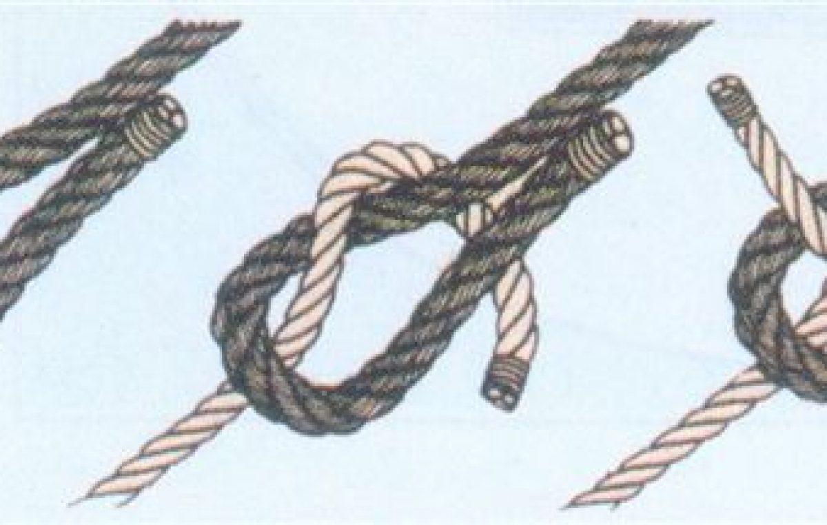 Πως δένουμε δύο διαφορετικά σχοινιά μεταξύ τους