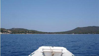 Ταξίδι με φουσκωτό στη Βόρεια Εύβοια – Σποράδες – Παράλια Πηλίου. – Μέρος 2