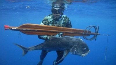 Επιλογή όπλου στο υποβρύχιο κυνήγι.