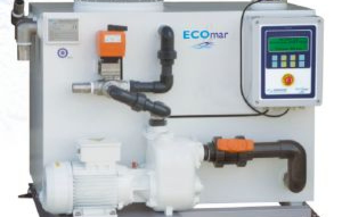 Εco Mar  Σύστημα επεξεργασίας αποβλήτων από την Ice Sea