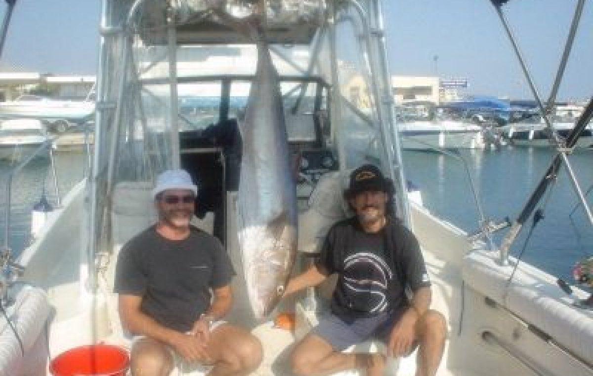 Ψαρεύοντας με downrigger