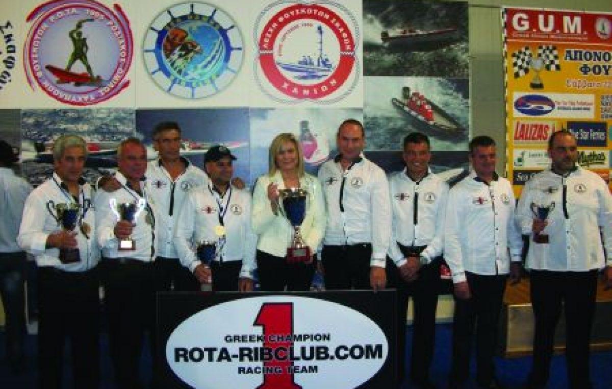 Η LALIZAS και τα MARINA Stores Χορηγοί στο Πανελλήνιο Πρωτάθλημα Φουσκωτών Σκαφών VIPER RIBS 2011.