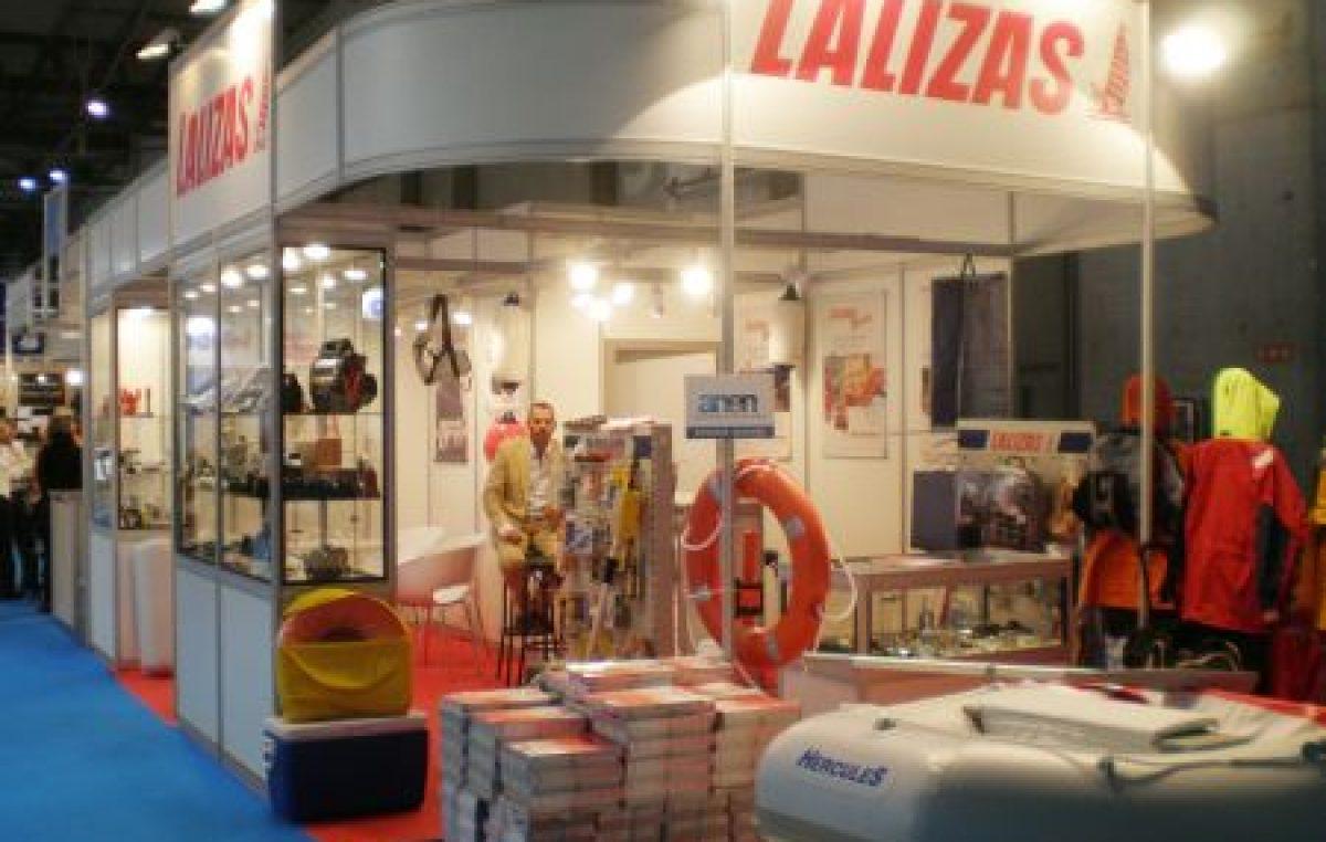 Η LALIZAS στο Ναυτικό Σαλόνι της Βαρκελώνης