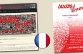 Η ιστοσελίδα της LALIZAS τώρα διαθέσιμη και στα Γαλλικά.