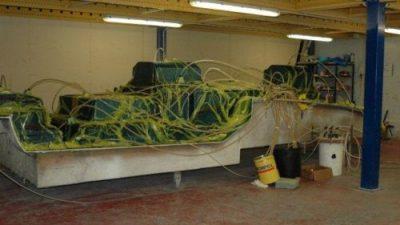 Vacuum Infusion στην κατασκευή σκάφους.