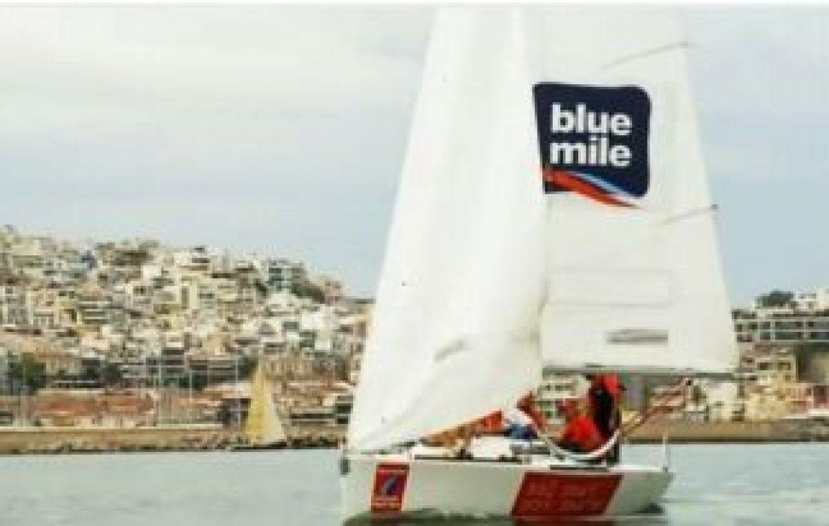 Χορηγία των MARINA Stores στη διοργάνωση Corporate Match Race 2012 του οργανισμού Blue Mile.