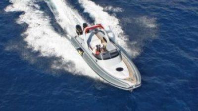 Η προπέλα του σκάφους.