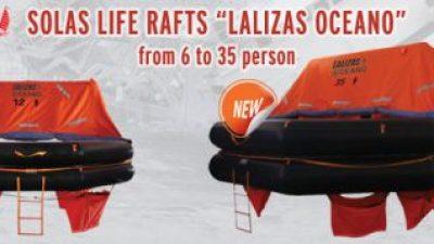 Σωστικές σχεδίες Lalizas Oceano – Solas