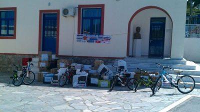 Οδοιπορικό της πρώτης Αποστολής του 2014 «Σταγόνα Αγάπης στο Αιγαίο» από  τον Σύλλογο «Ναυτίλος»
