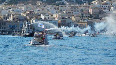 """Συμμετοχή στην 9η Πανελλήνια Συνάντηση Ομίλων Φουσκωτών Σκαφών στην Σύρο από τον σύλλογο """"ΝΑΥΤΙΛΟΣ"""""""