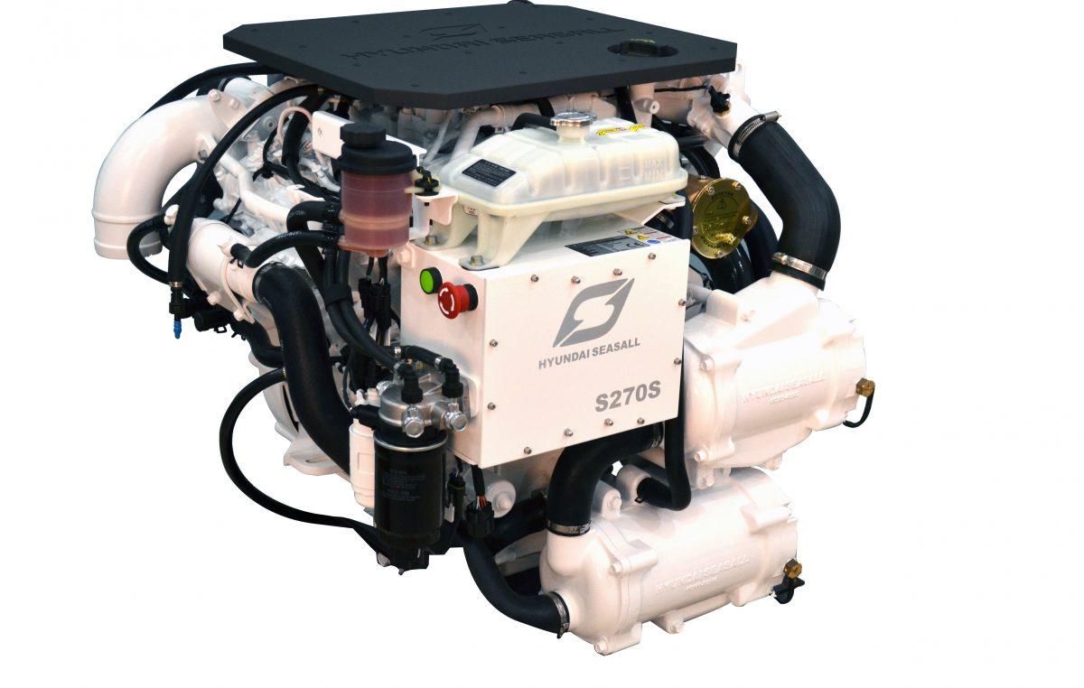 Νέος κινητήρας Hyundai SeasAll S270