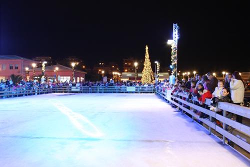 Χριστούγεννα στο «Νότιο Πόλο» της Μαρίνας Φλοίσβου