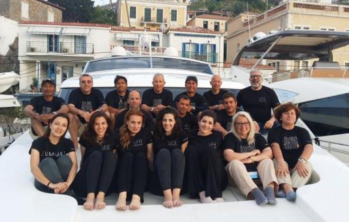 Παρουσία της V+P4YACHTS στο East Med Yacht Show-Poros 2015