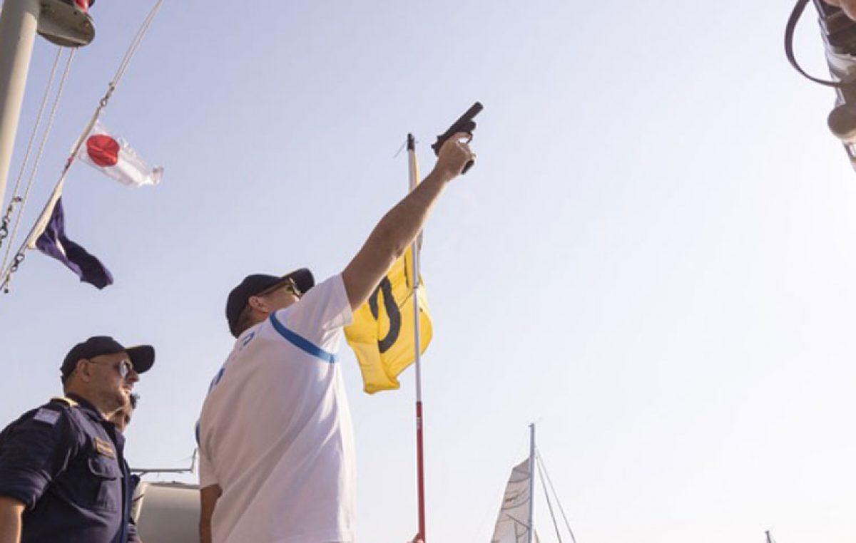 Ο Ολυμπιονίκης Σπύρος Γιαννιώτης έδωσε την εκκίνηση στο 54ο Ράλλυ Αιγαίου
