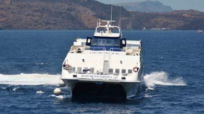 Στο λιμάνι της Σίφνου προσέκρουσε το Sea Jet 2 – Δύο τραυματίες