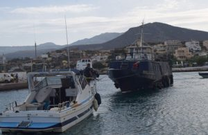 Πόντιση πλοίου στον Άγιο Νικόλαο