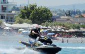 Εντυπωσιακό θέαμα στο Πανελλήνιο Πρωτάθλημα τζετ σκι Slalom King