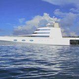Η «διαστημική» θαλαμηγός που μάγεψε την Κέρκυρα – Από τις πιο ακριβές στον κόσμο (εικόνες, video)