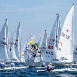 Οι άνεμοι «έδεσαν» τα σκάφη στο ευρωπαϊκό Laser Radial